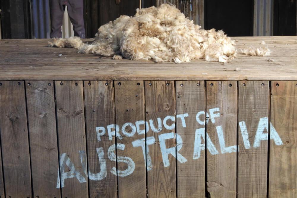 Australian Wool Prices Plunge on US-China Trade Gap
