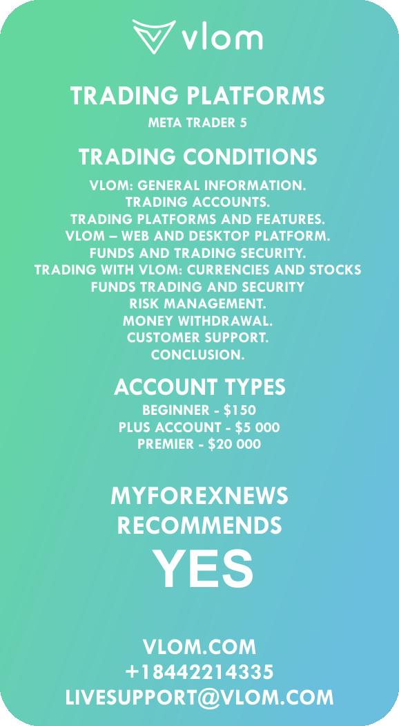 VLOM Broker Review infographic