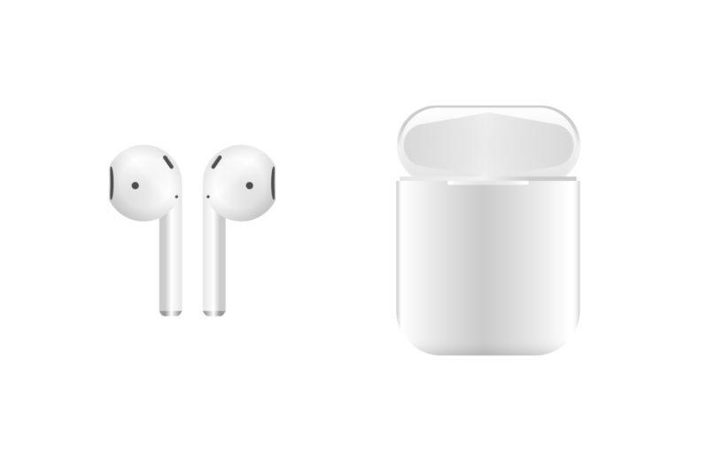 AirPod headphones