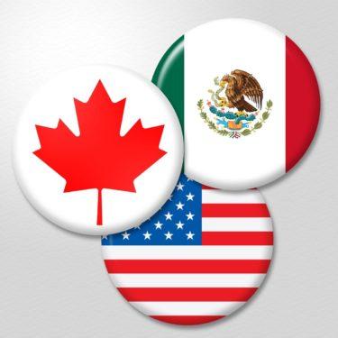 US, Mexico, Canada