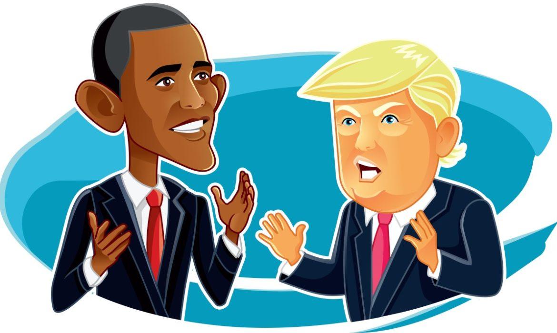 Clash of Presidents: Barack Obama vs. Donald Trump