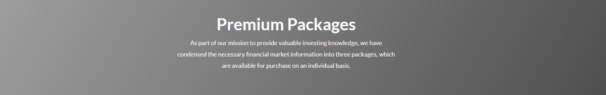 premium packages