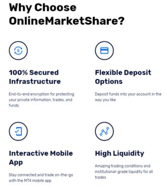 OnlineMarketShare choose