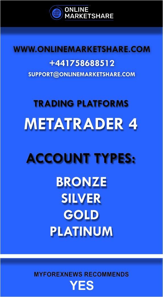 OnlineMarketShare infographic