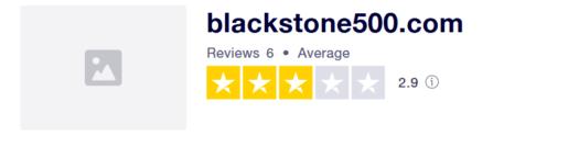 Blackstone500 purchased ratings