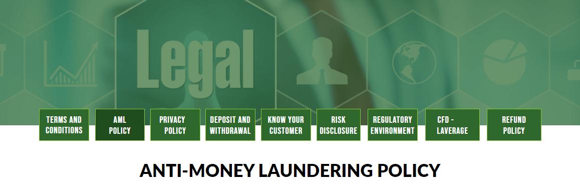 FxCryptoClub Legal