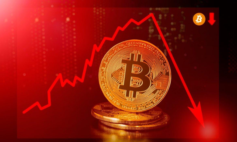 Bitcoin has a sudden drop of the Three Percent