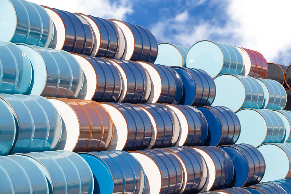 In U.S. crude stocks, oil retreats