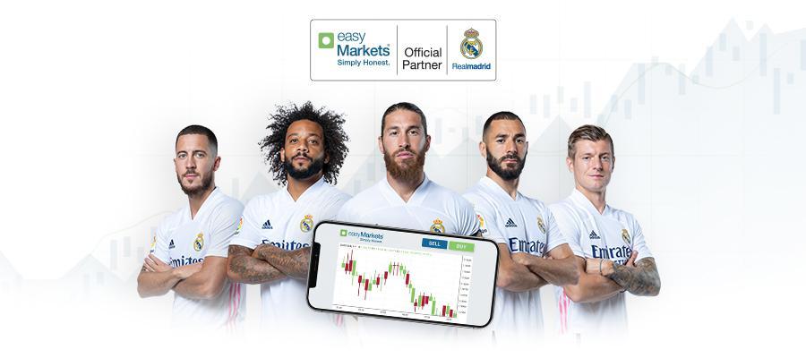 EasyMarkets Secures Real Madrid CF Sponsorship