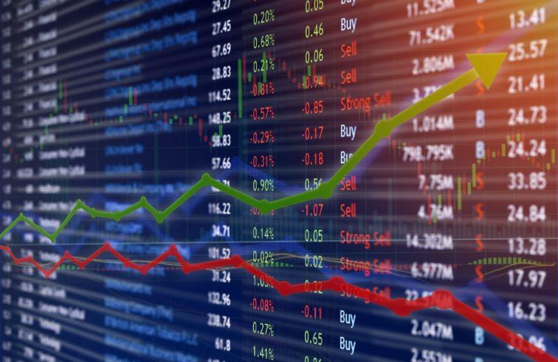 EU Shares Lower, Growing Bond Yields Weighing