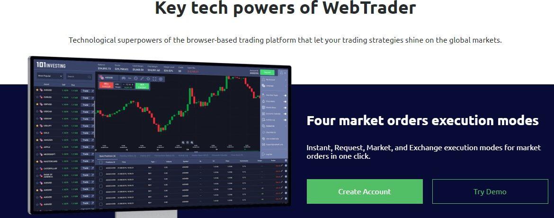 101Investing trading platform