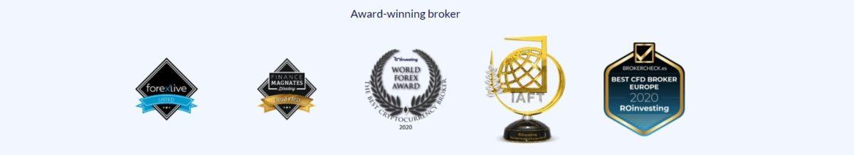 ROinvesting award winnig broker