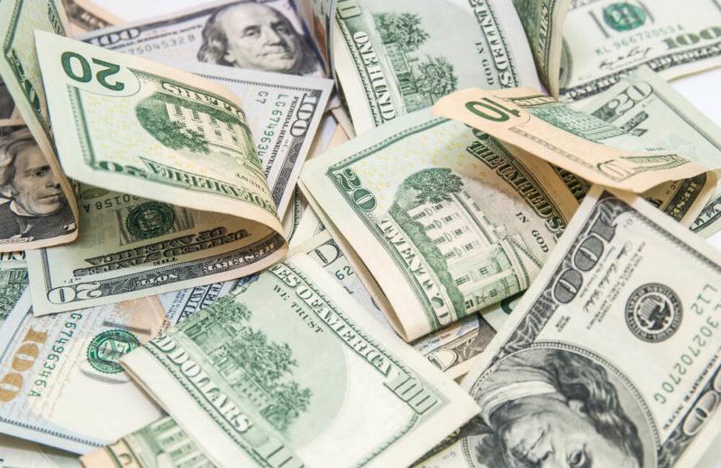 USD banknotes