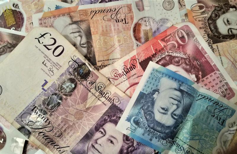 Pound bills