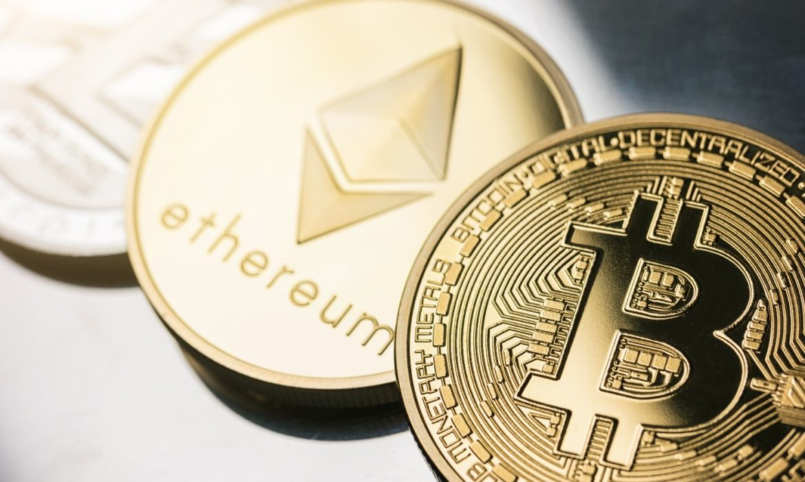 Bitcoin fell by 19.5% from record highs; Ether lost 18%