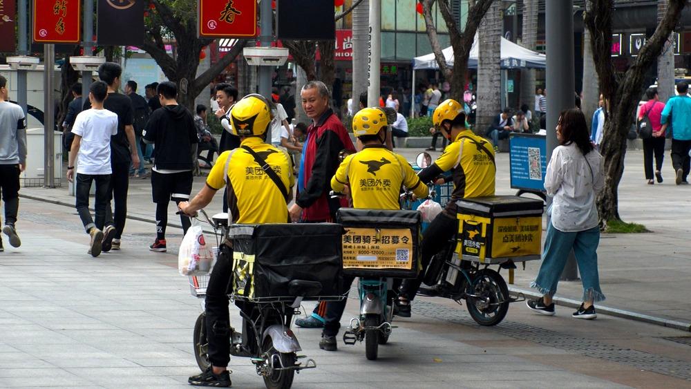 China Food Delivery Meituan Raises $10 Billion