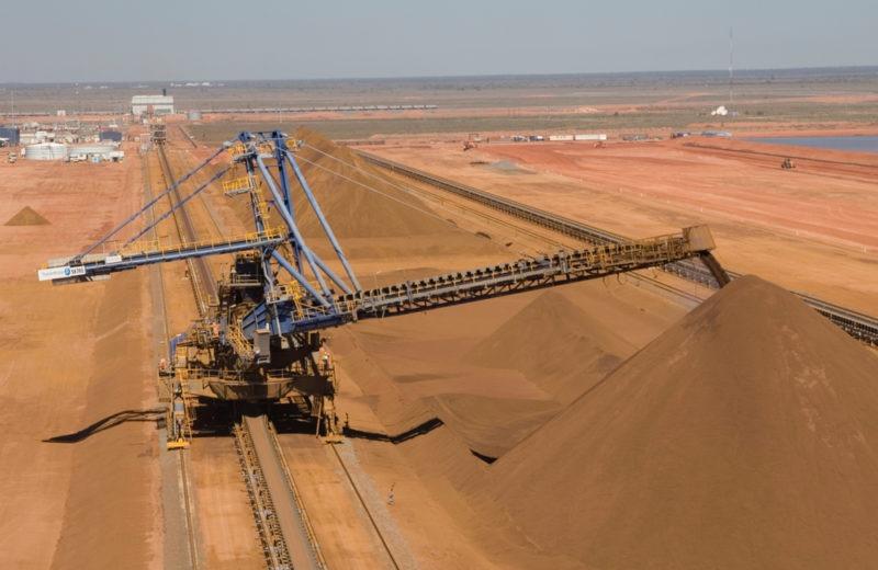 "Iron ore price slides- ""abnormal transactions"""