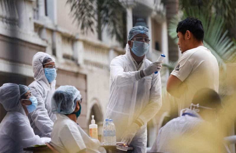 medics in india covid