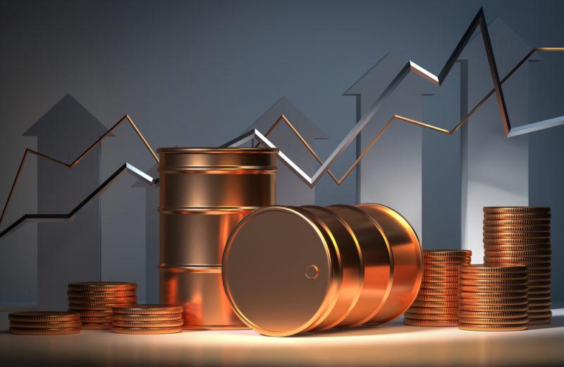 Oil Nears a Three-year High at $84 a Barrel